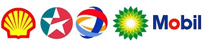 dau thuy luc shell, total, caltex, bp