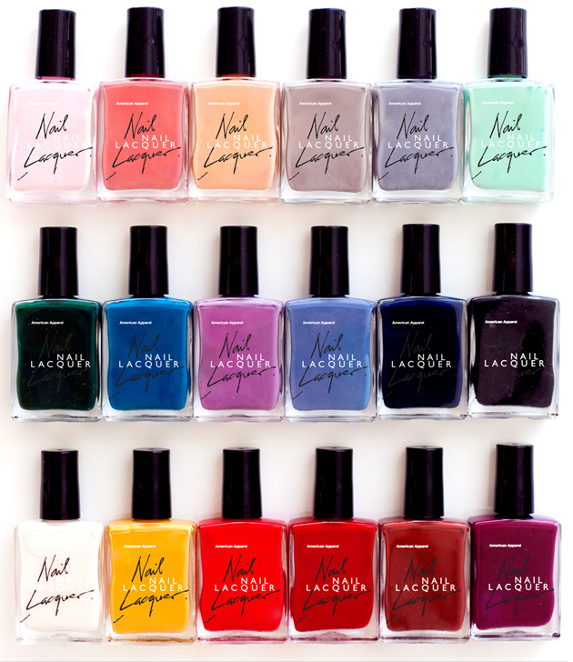 Labels: nail polish