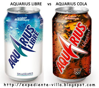 aquarius libre cola