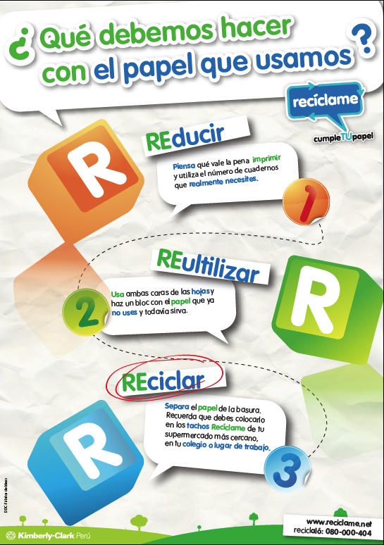 Reducir Reutilizar Reciclar