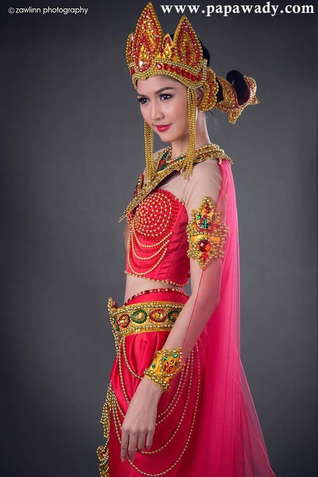 Luxury Brand Model Award Winner From Myanmar - Miss Myanmar Model Zune Than Sin