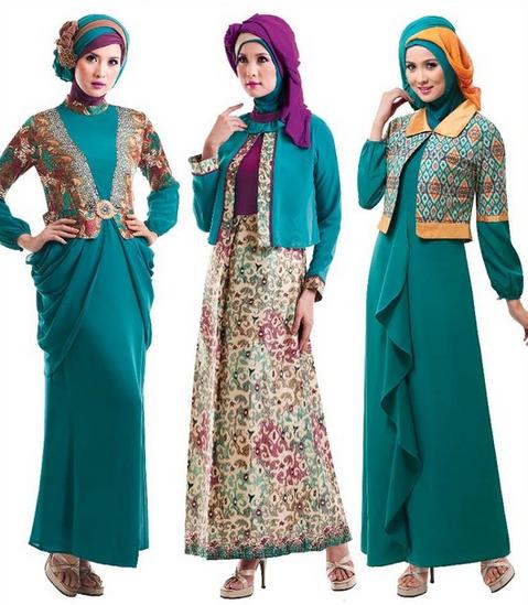 Model Baju Muslim Lebaran 2016 Trend Baru