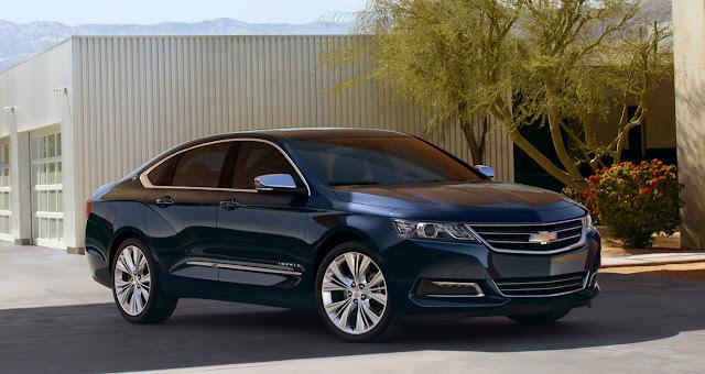 Chevrolet Impala 2013 front