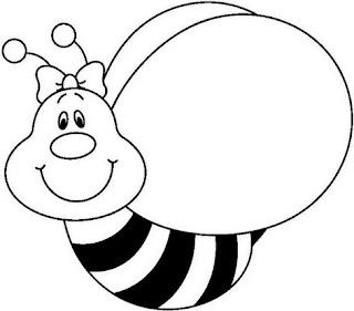 Abelhas 50 atividades e desenhos 03 de outubro dia da - Bumble bee pictures a colori ...