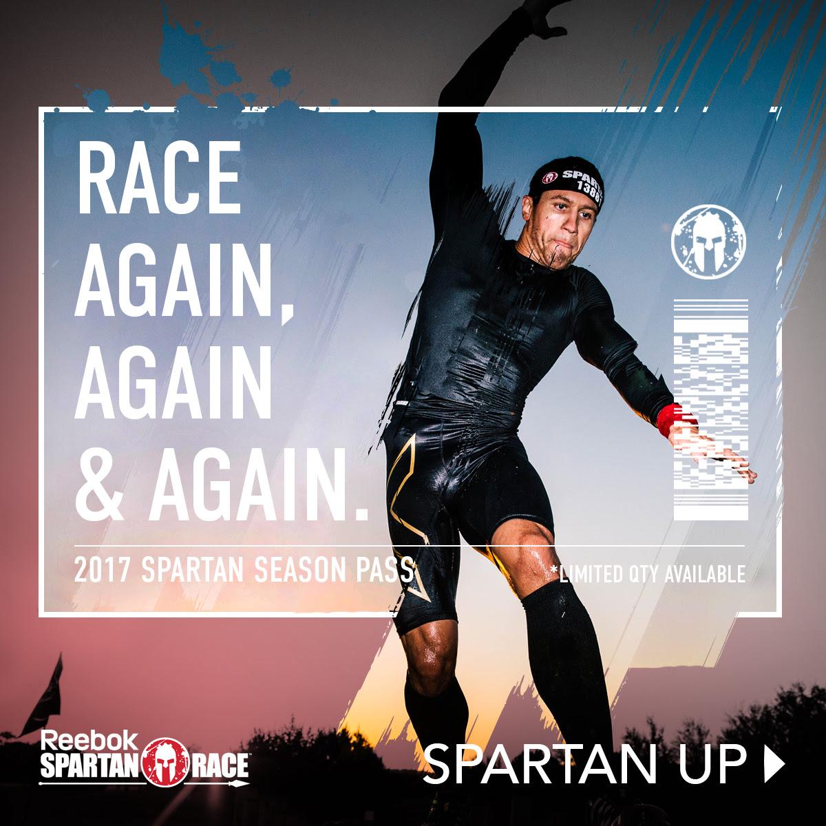 SPARTAN RACE Season Pass on sale now!