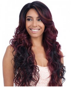 Equal Synthetic Lace Front Deep Invisible Part Wig Tanzie