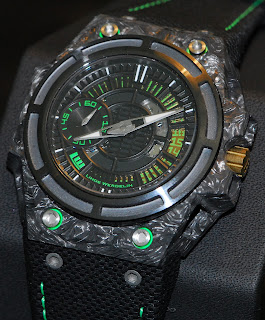 Montre Linde Werdelin SpidoLite II Tech Green