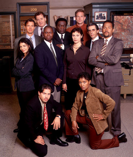 The cast of Homicide