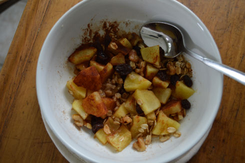 Baked Apple Bowl | seriously-lovely.blogspot.com