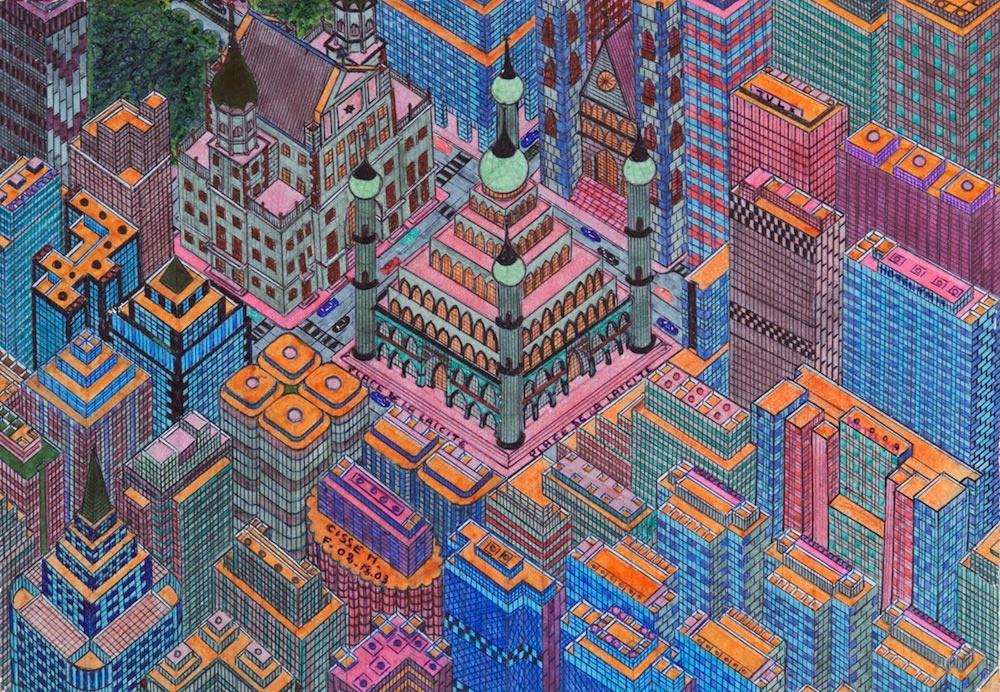 Tocho T8: Mamadou Ciss� (1960): Ciudades imaginarias