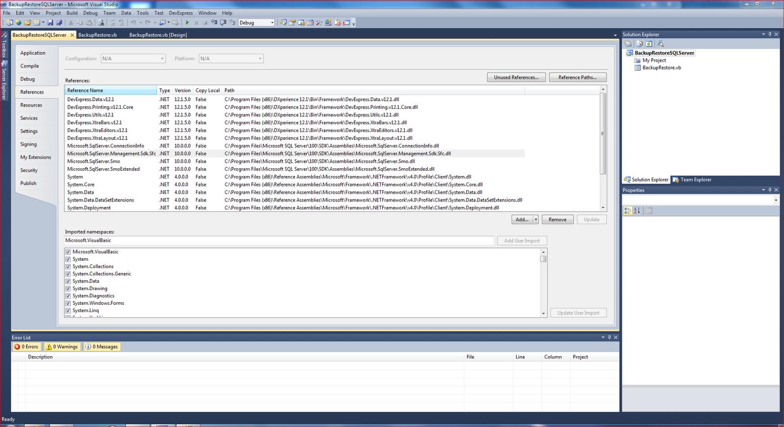Как сделать бэкап баз в sql server 2008