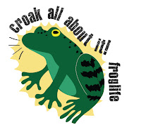 croak all about it! logo