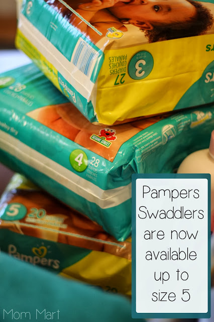 Pampers Gift of Sleep Gift Basket with Swaddlers up to size 5