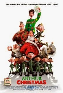 مشاهدة فيلم الأنميشين Arthur Christmas مترجم اون لاين