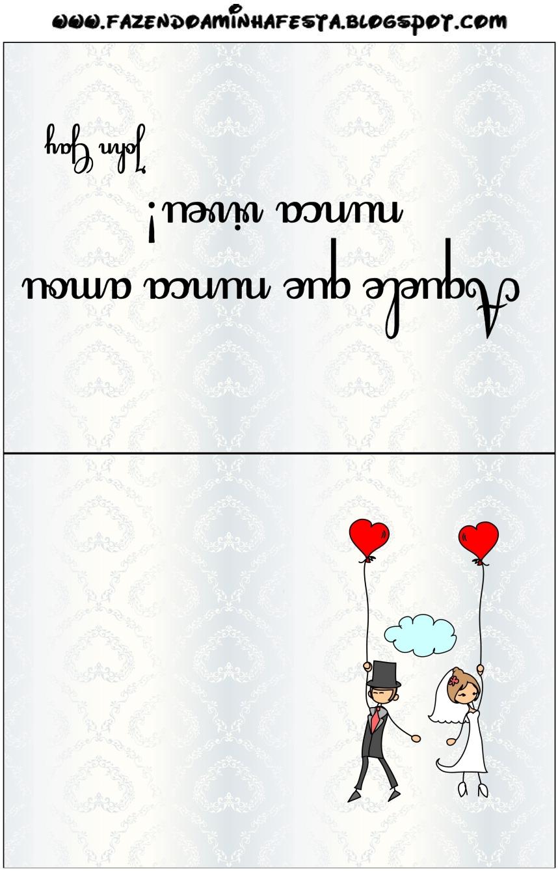 Cartões De Agradecimento De Mesa Com Frase De Amor Grátis Para