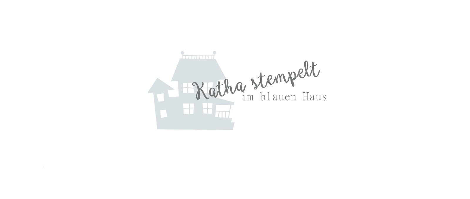 Katha stempelt im blauen Haus