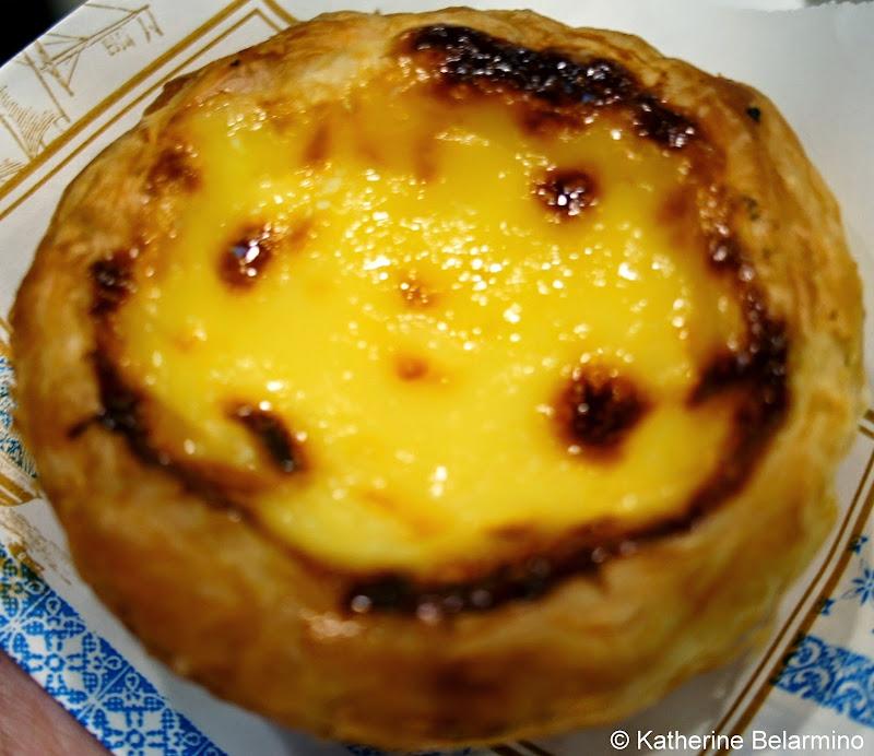 Chinese Egg Tart 蛋挞 from Lillian Bakery in Shanghai China