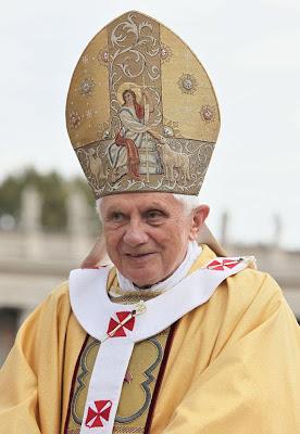 Pope Benedict XVI Twitter account