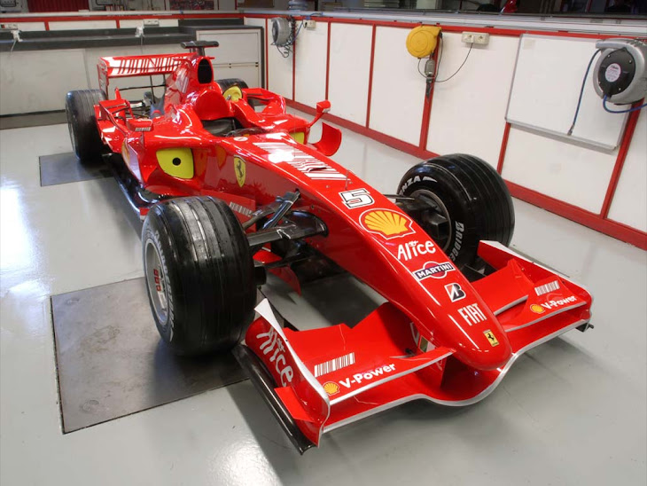 Ferrari F1-Cars