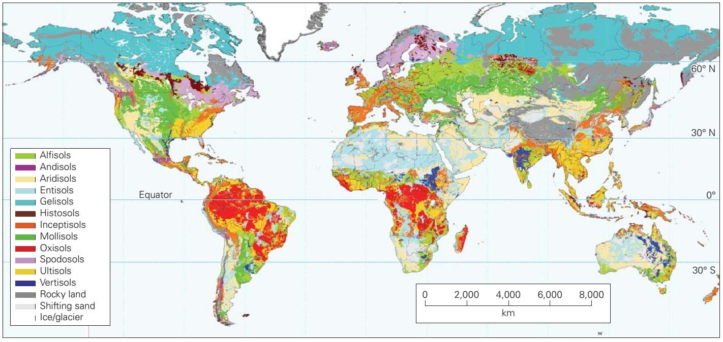 Soil Learning Geology - Soil resistivity map us