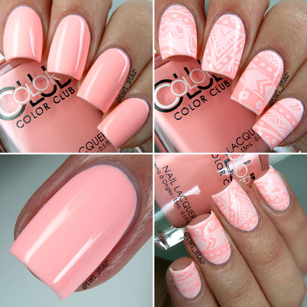 Color Club Poptastic Pastel Neon Swatches Hot Hot Hot Pants