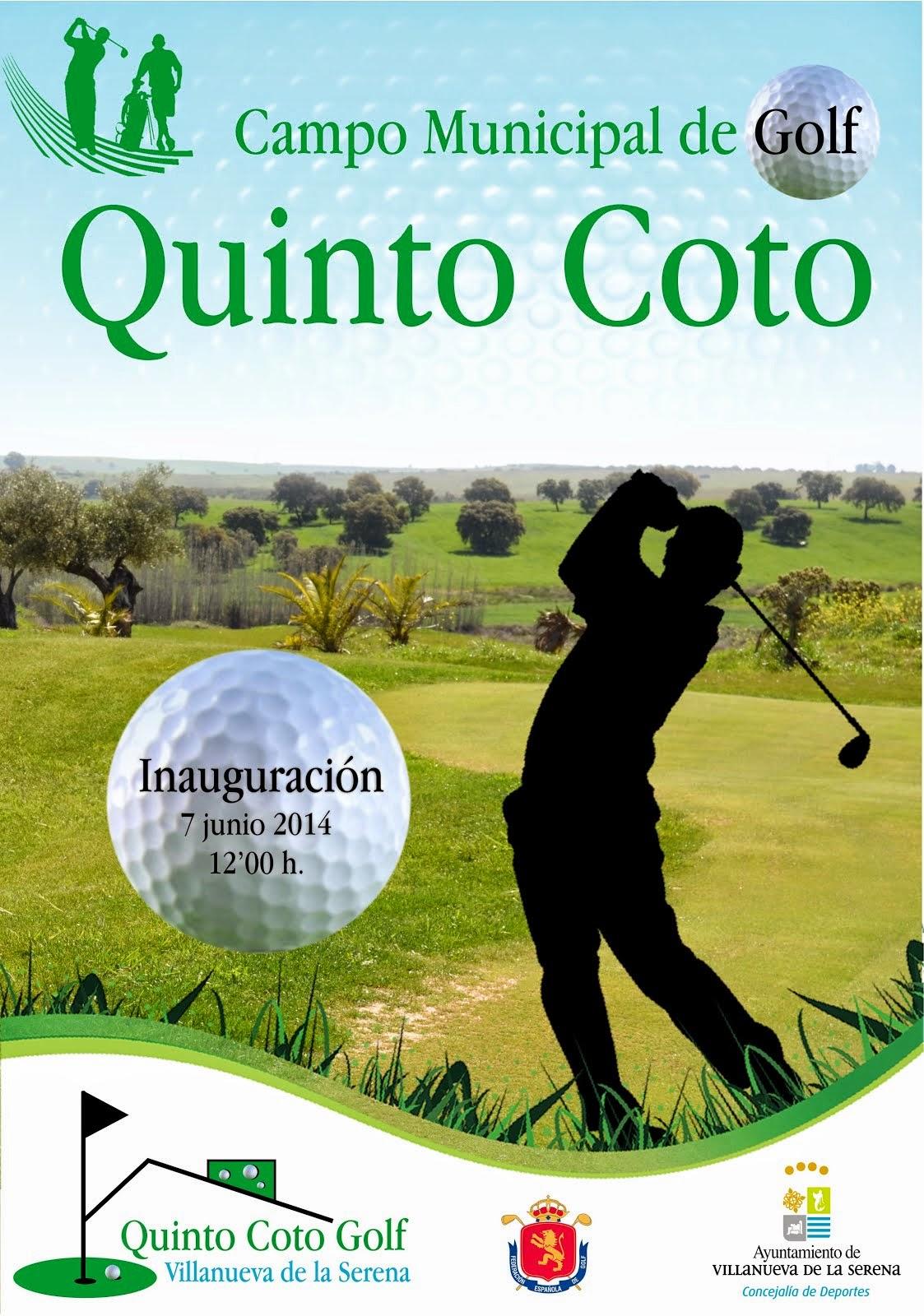 Inauguración Campo de Golf