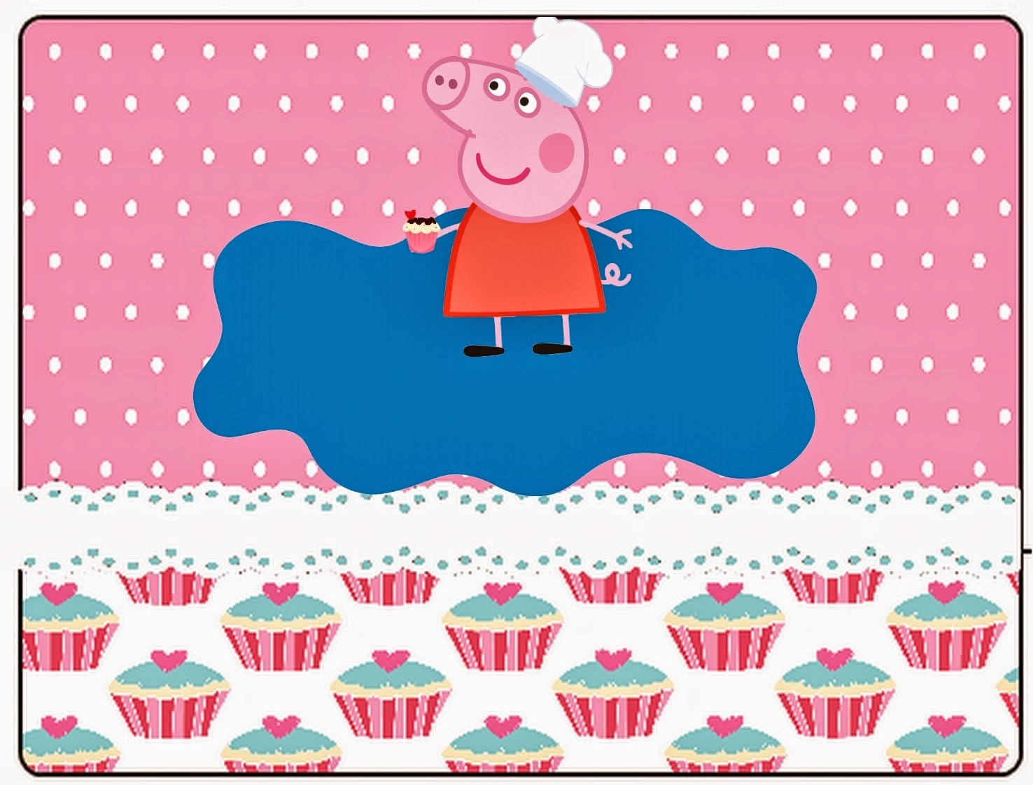 peppa pig cooking free printable kit is it for parties is it