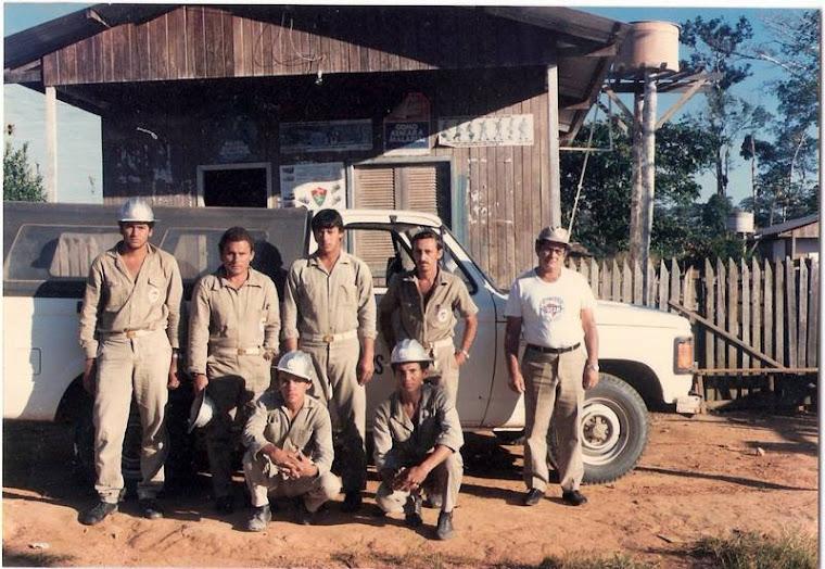 Os malaeiro de combate a malaria em Rondonia