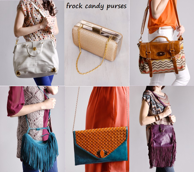 A collection of purses from Frock Candy