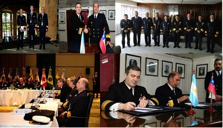 Intensas actividades del actual Director de Organización y Doctrina de la Armada Argentina