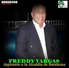Freddy Vargas el alcalde de Barahona