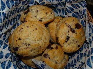 Chokolade scones