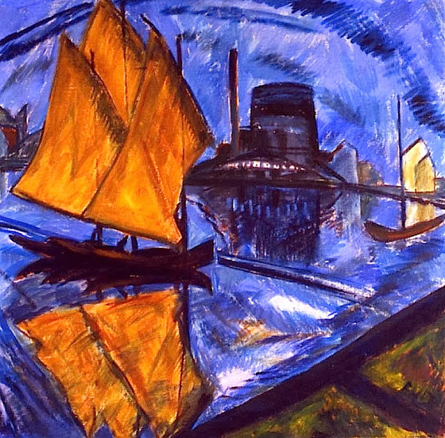 modernism erich heckel and primitive art essay This new world needed a new art expressionism was not the german artists fritz bleyl, erich heckel a group who used woodcut prints and primitive styles.