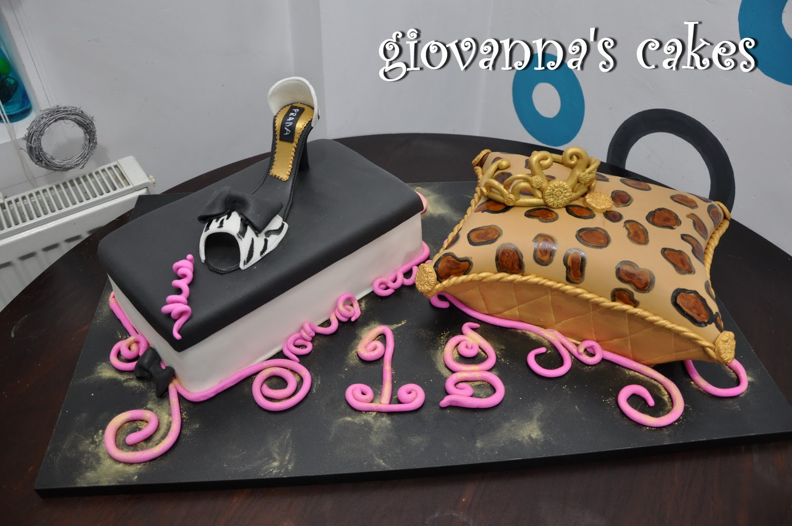 Giovannas Cakes Fashionista 18 Year Old Princess Birthday Cake