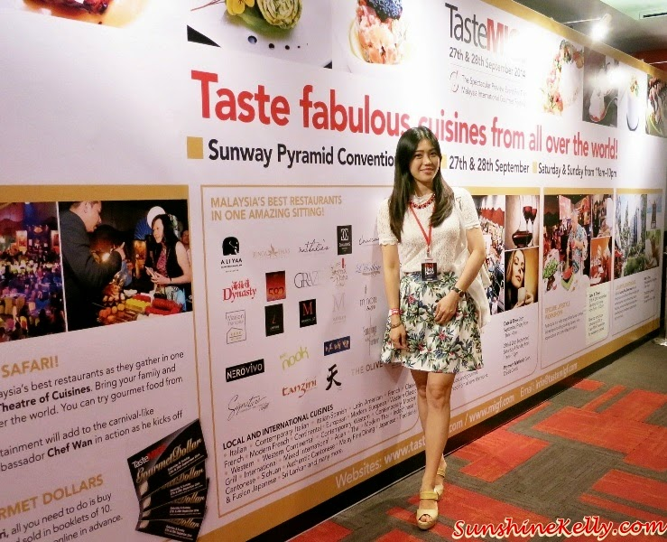 MIGF 2014, Taste MIGF Gala Launc, Sunway Convention Centre, Red Hot Chefs, Malaysia International Gourmet Festival