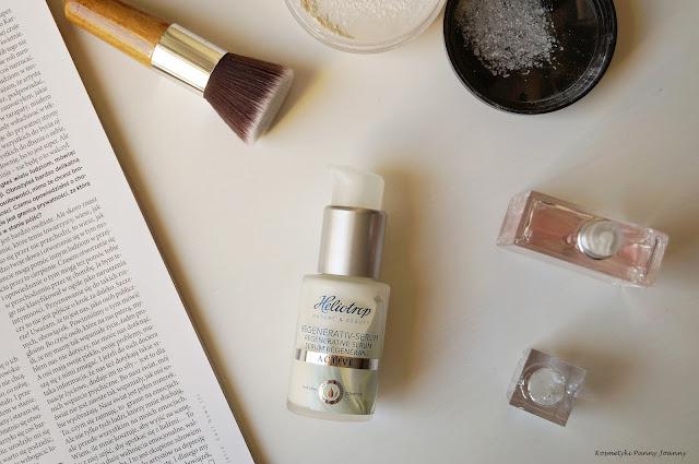 Naturalna pielęgnacja twarzy - Organiczne serum Heliotrop Active Regenerative, kosmetyki Heliotrop opinia