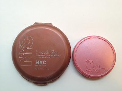 NYC Sunny Bronzer & Tarte Dollface