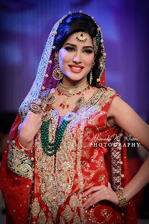 Mehwish Hayat panteene Bridal couture  Weak 2013 Images