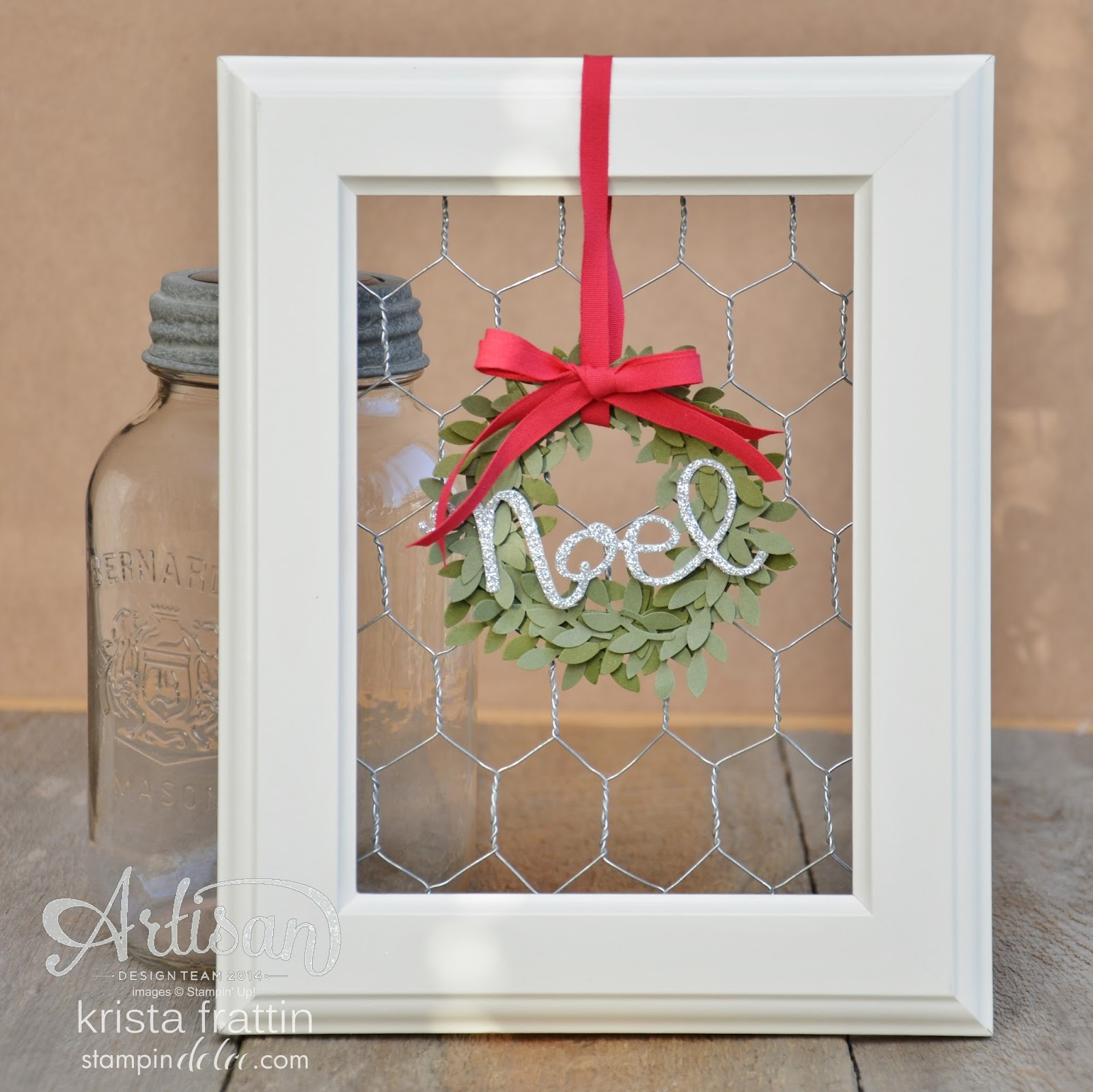 12 days of christmas day 3 christmas decor tgifc30 - Christmas Decorations With Chicken Wire