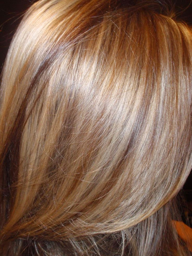 Hairstyles And Women Attire Light Blonde With Caramel Highlights