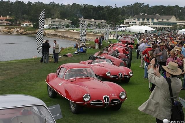 Vintage Car-Concept Car -1952 The Alfa Romeo C52 Disco Volante