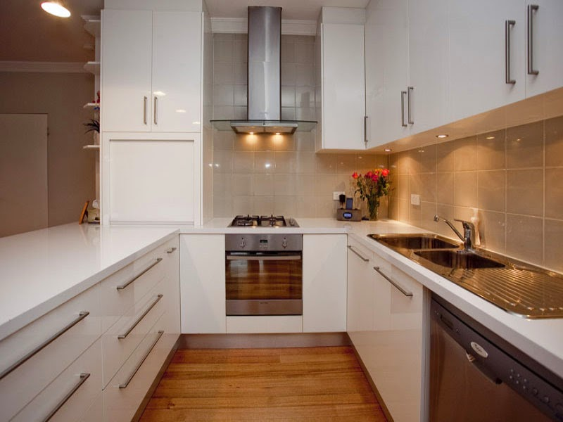 Dapur Minimalis Bentuk U