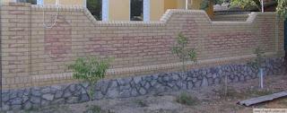 Кирпичный забор. Фото 33