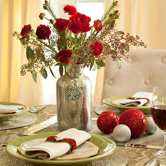 Decorating Ideas > Gallery For > Christmas Table Decoration Ideas Easy ~ 004028_Christmas Centerpiece Ideas Easy