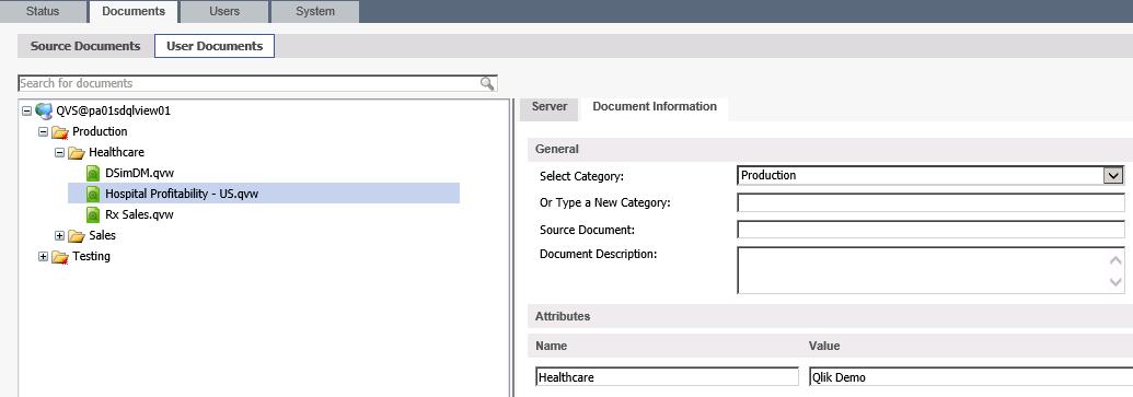 QlikView Access Point Folder Setup - Anexinet