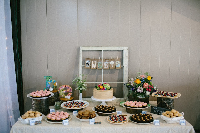 Rustic Charm Mini Dessert Table MN