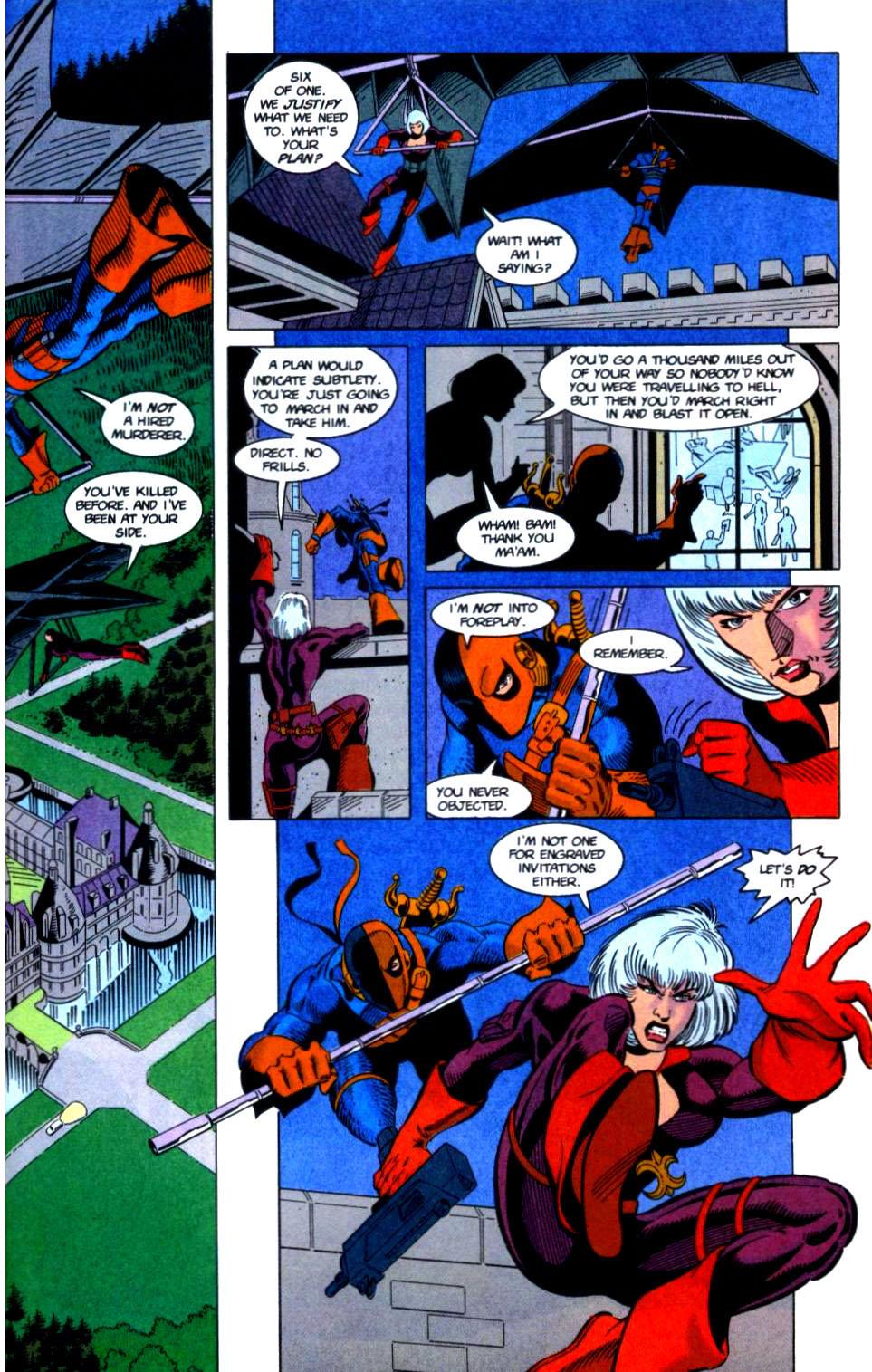 Deathstroke (1991) Issue #32 #37 - English 14