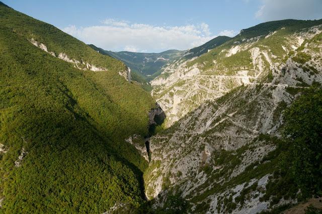 Il vallone dell'Avello da Balzolo