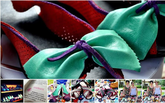 Diseño de calzado - sandalias en cuero