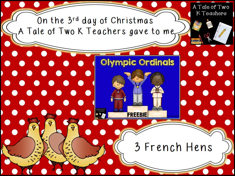 http://www.teacherspayteachers.com/Product/Olympic-Ordinals-1003775